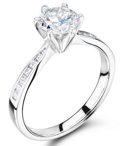 Engagement Rings London Hatton Garden Voltaire Diamonds